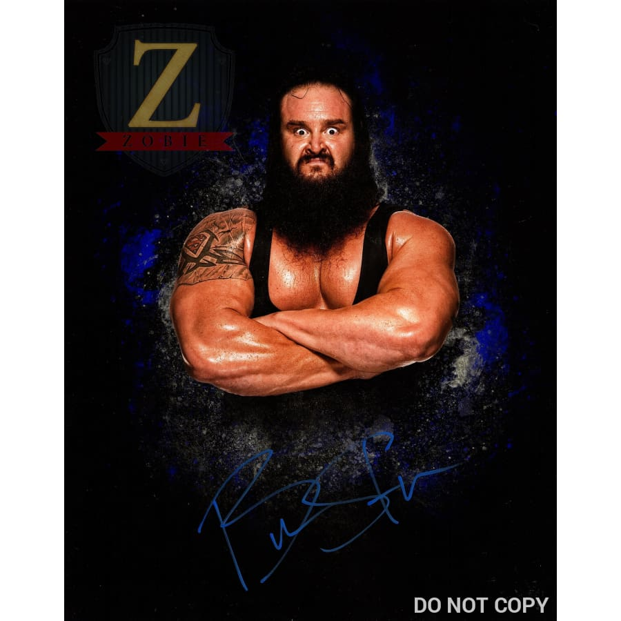 Braun Strowman Autograph 11X14 Photo Signed Picture Monster Among Men Coa