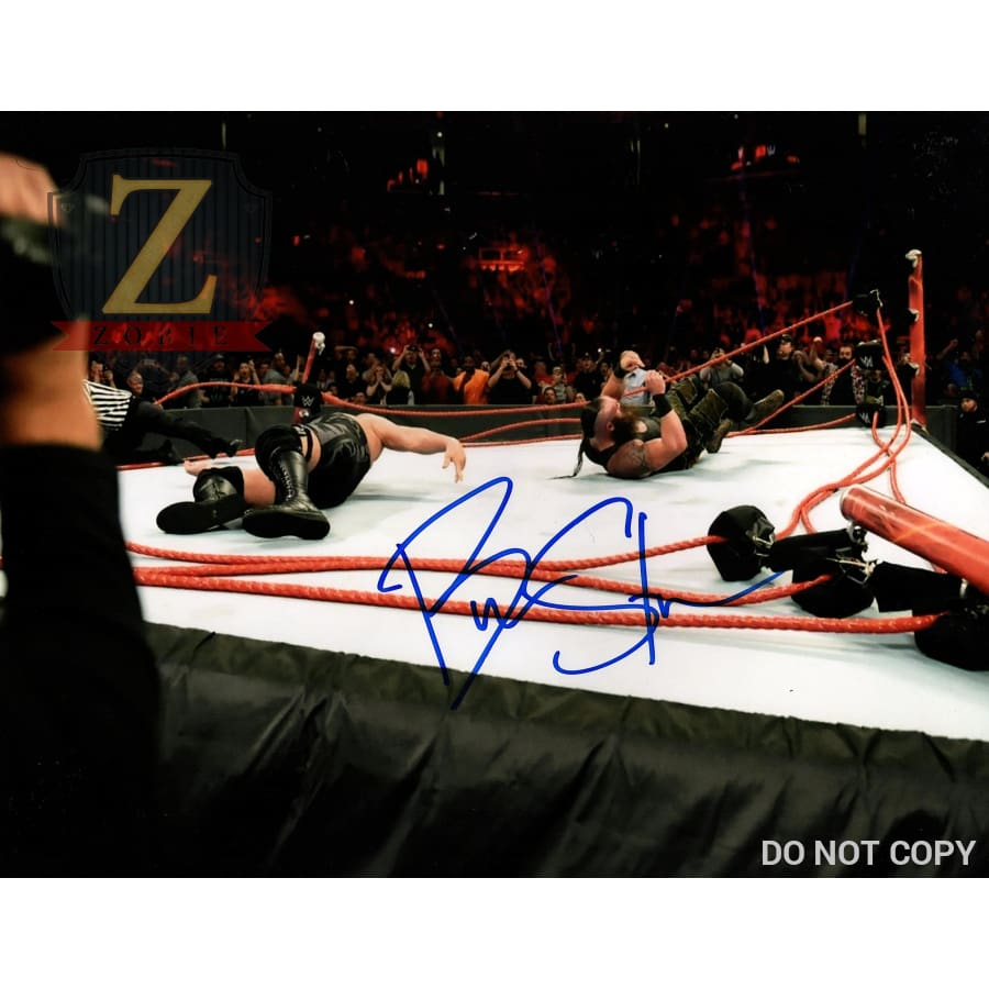 Braun Strowman Signed 11X14 Photo Wwe Autograph Monster Among Us Coa 4