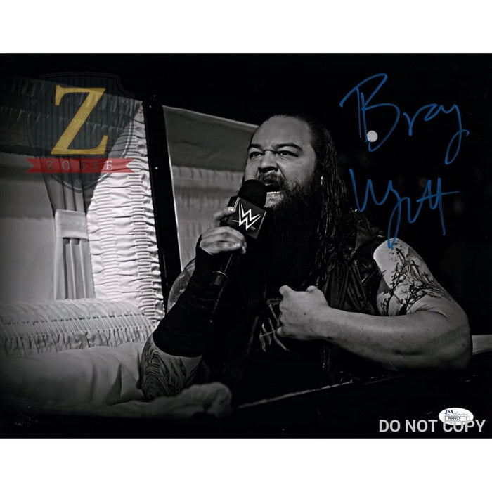 Bray Wyatt Autograph 11X14 Wwe Photo Signed Jsa Coa 11X14