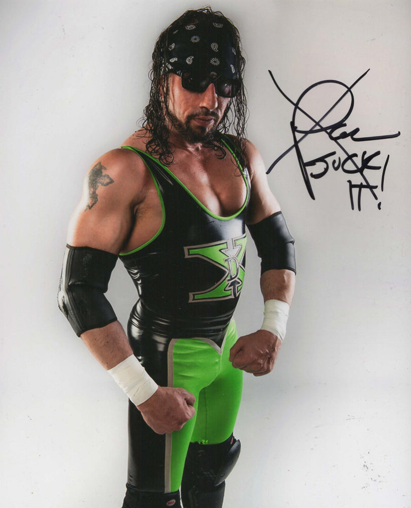 X Pac Autograph 8x10 Photo WWF WCW  DX Signed COA