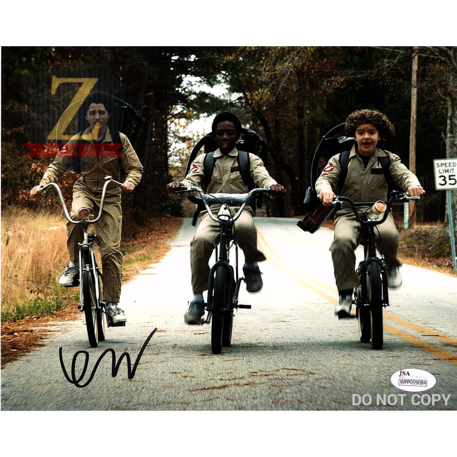 Finn Wolfhard Signed 8X10 Photo Stranger Things Mike Autograph Jsa Coa Z8