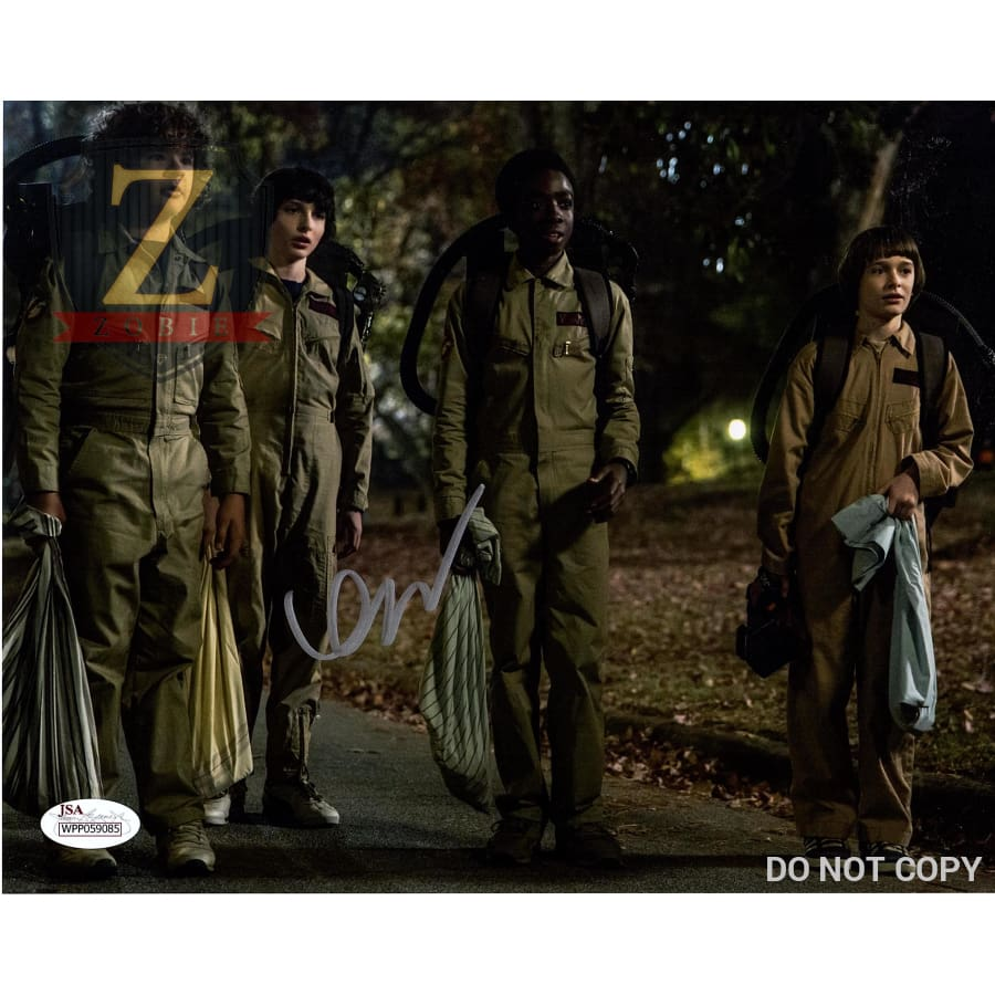 Finn Wolfhard Signed 8X10 Photo Stranger Things Mike Autograph Jsa Coa Z9