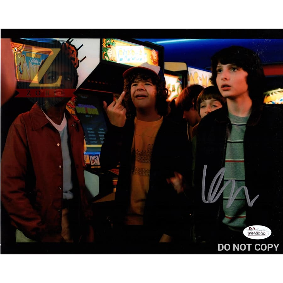 Finn Wolfhard Signed 8X10 Photo Stranger Things Mike Autograph Jsa Coa