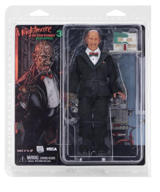 "NECA Nightmare on Elm St  - 8"" Clothed Figure - Tuxedo Freddy"