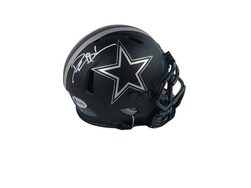 Deion Sanders Autograph Dallas Cowboys Mini Helmet Signed Beckett COA