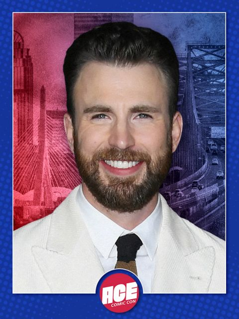 Chris Evans Official ACE Comic Con Signing Autograph Pre-Order