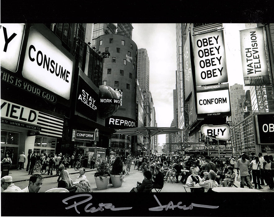 Peter Jason Signed 8x10 Photo They Live Autograph Zobie COA