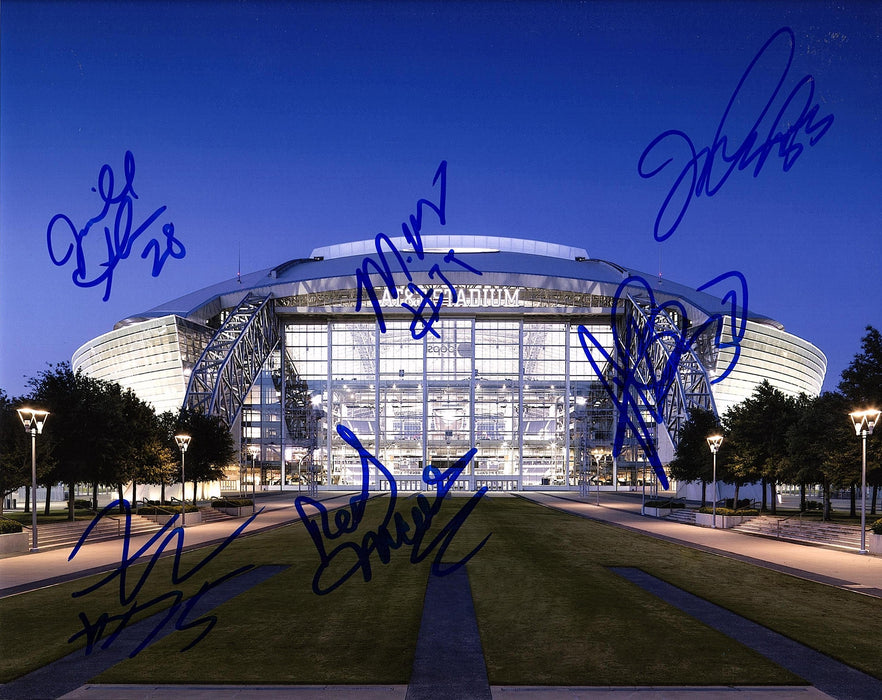 Dallas Cowboys Autograph Multi Signed 8x10 Photo COA 2