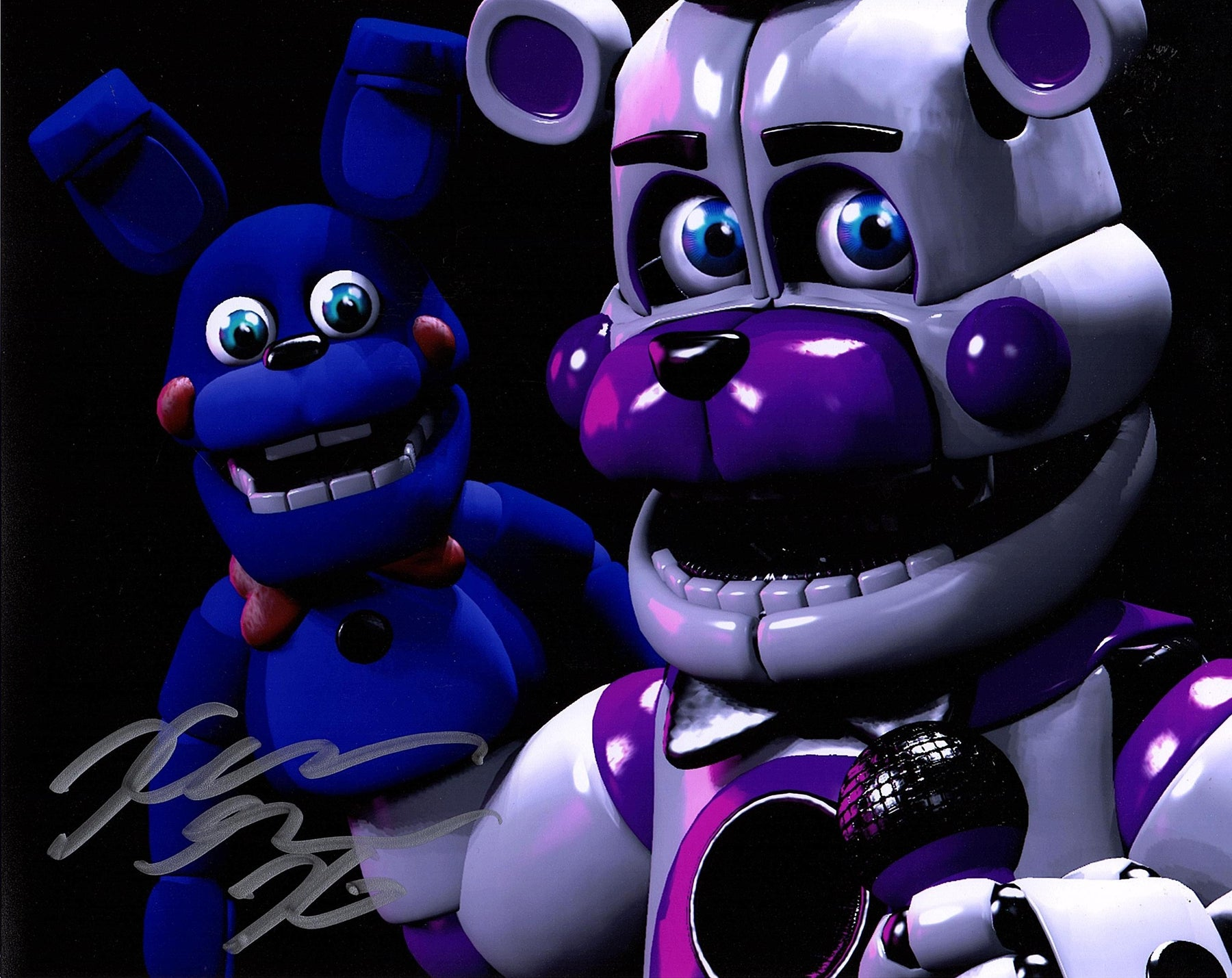 Kellen Goff Signed 8x10 Photo Five Nights at Funtime Freddy's COA Z2