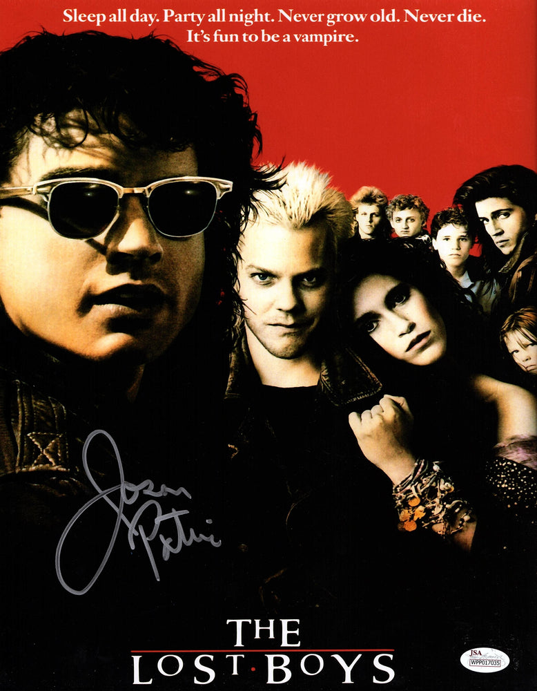 Jason Patric Signed 11X14 Picture The Lost Boys photo Autograph JSA COA