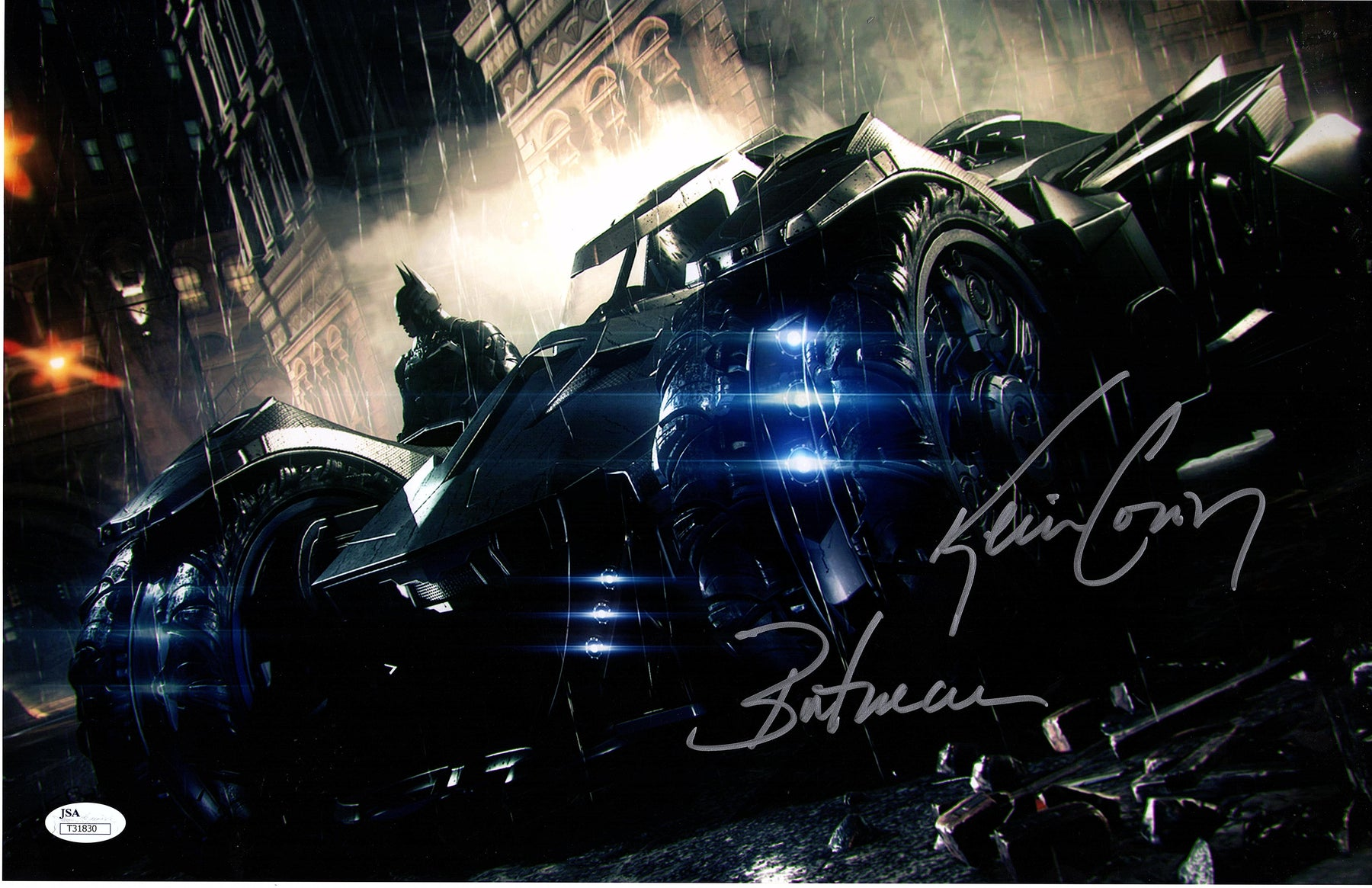 Kevin Conroy Signed 11x17 Photo Autograph Batman Arkham Knight JSA COA 4