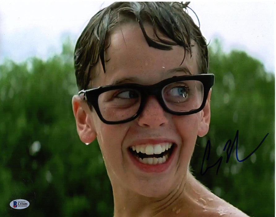 Chauncey Leopardi Signed 11x14 Photo Sandlot Squints Autograph Beckett COA Z2