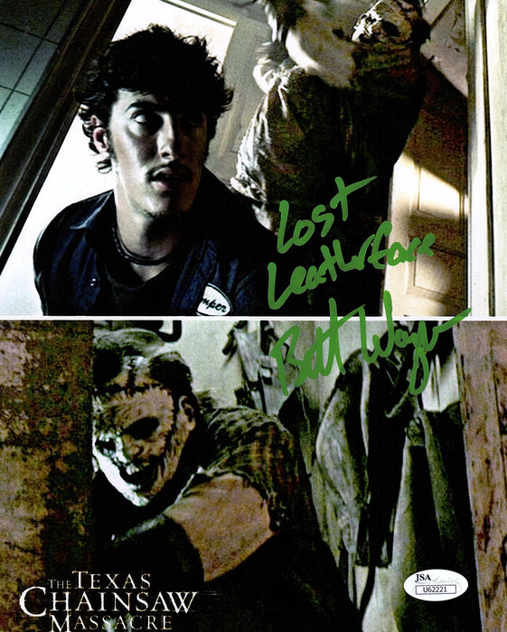Brett Wagner Signed 8x10 Photo Autograph Texas Chainsaw Massacre Leatherface JSA