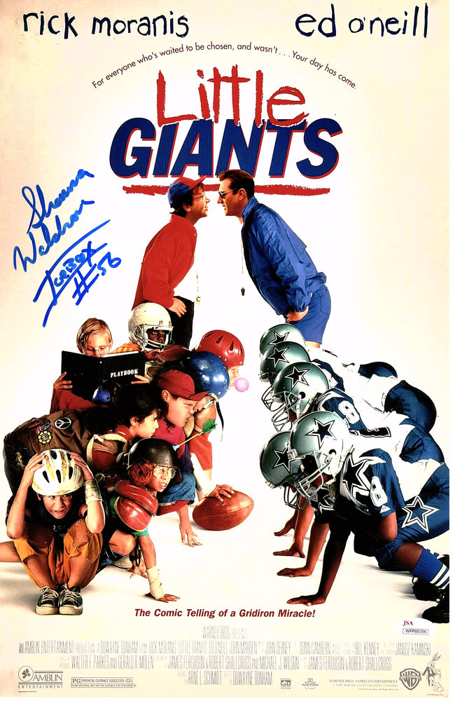 Shawna Waldron Autograph 11x17 Photo Little Giants ICEBOX SIGNED JSA COA Z1
