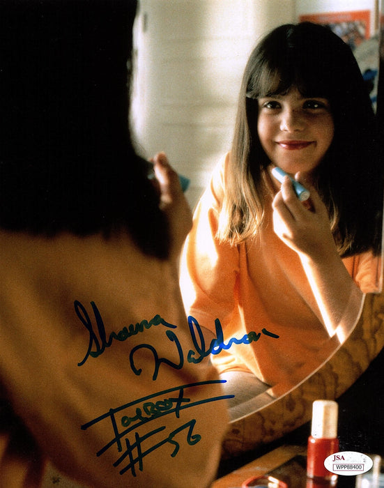 Shawna Waldron Autograph 8x10 Photo Little Giants ICEBOX Signed JSA COA