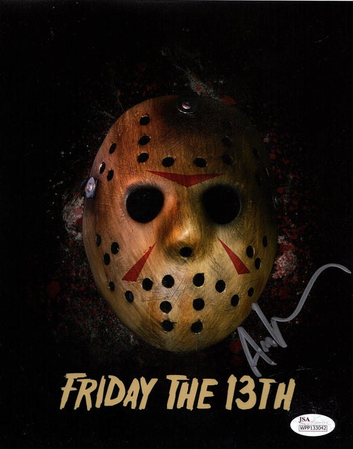 Ari Lehman Autograph 8x10 Photo Friday the 13th Signed Jason Voorhees JSA COA 8