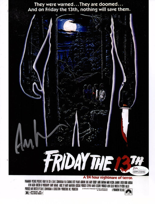 Ari Lehman Autograph 8x10 Photo Friday the 13th Signed Jason Voorhees JSA COA 9