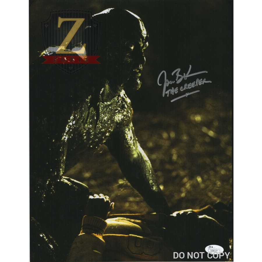 Jonathan Breck Signed 11X14 Photo Jeepers Creepers Jsa Coa V22