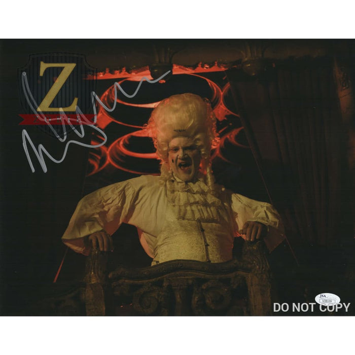 Malcolm Mcdowell Signed 11X14 Photo Rob Zombie 31 Jsa Coa H4