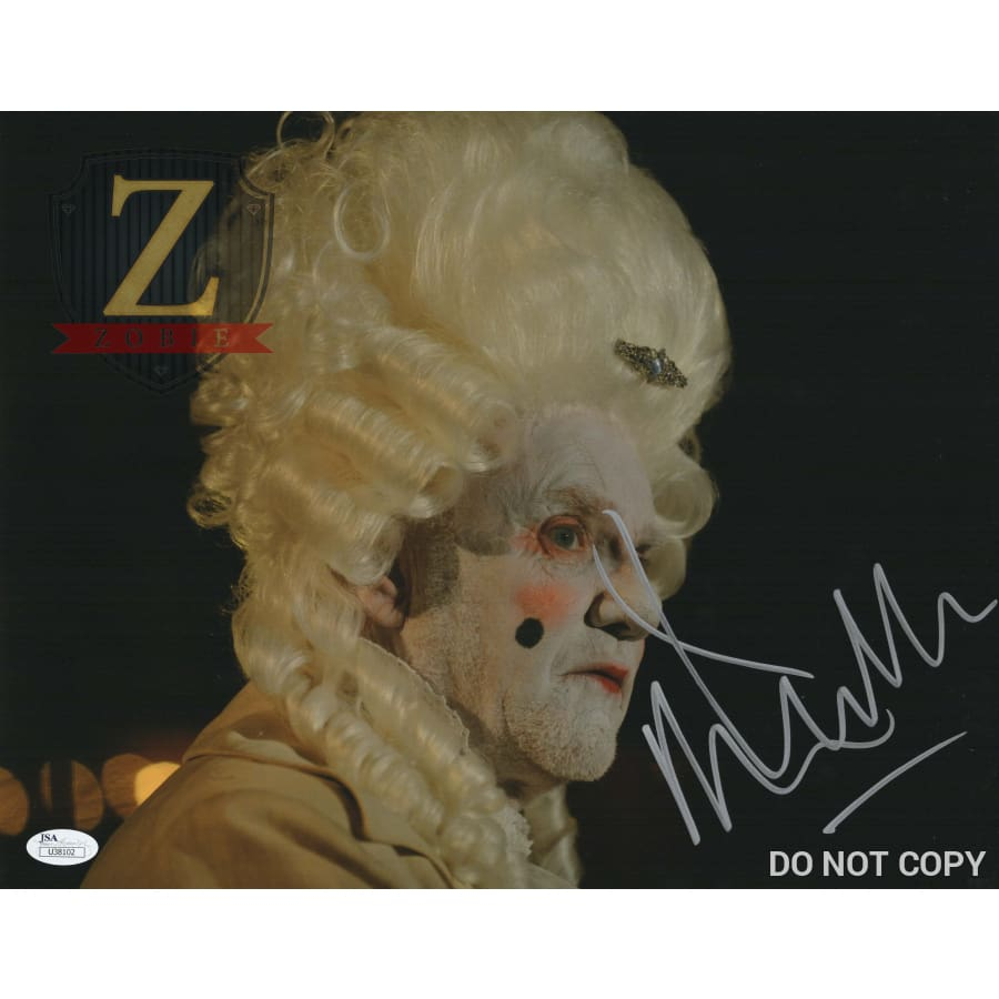 Malcolm Mcdowell Signed 11X14 Photo Rob Zombie 31 Jsa Coa H8