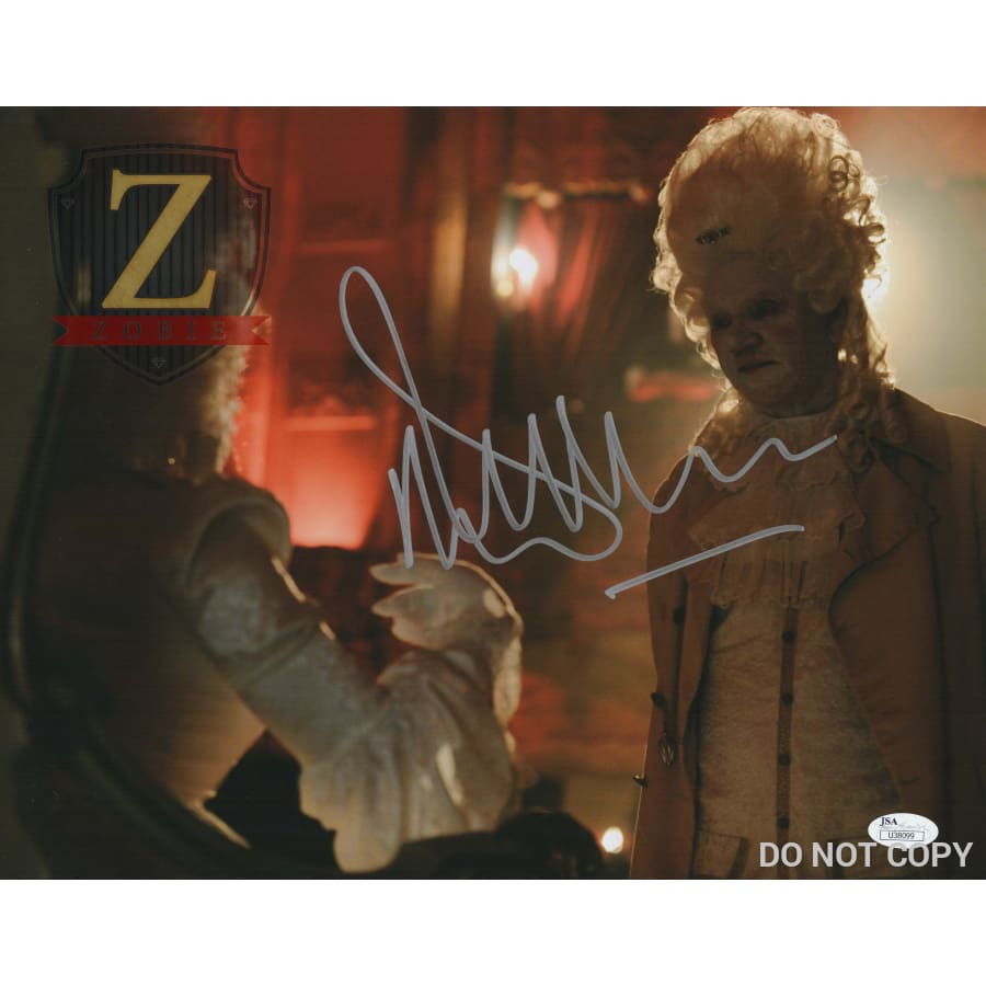 Malcolm Mcdowell Signed 11X14 Photo Rob Zombie 31 Jsa Coa H9