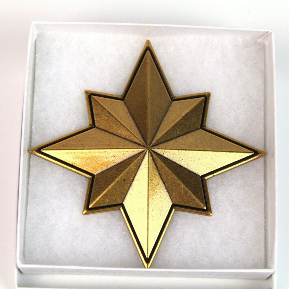 Zobie Box Exclusive Prop Replica - Captain Marvel Insignia Star