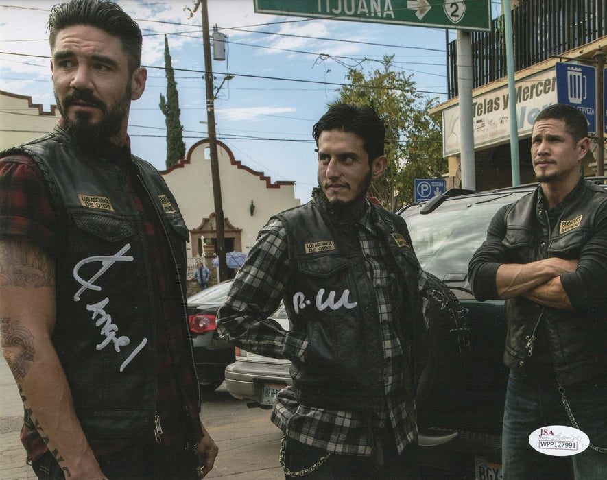 Richard Cabral Clayton Cardenas Autograph 8x10 Photo Mayans MC Signed JSA 2