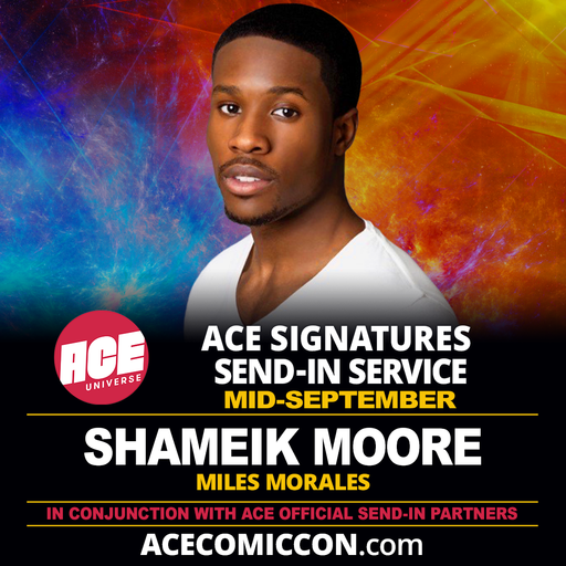 CLOSED Shameik Moore Official ACE Comic Con Signing Autograph Pre-Order