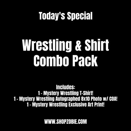 SPECIAL Wrestling & Shirt Combo Pack