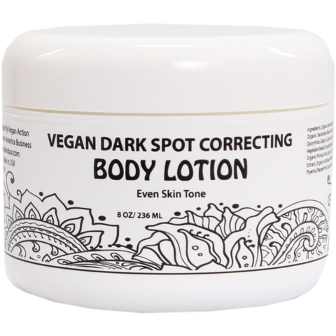 VEGAN DARK SPOT CORRECTING BODY LOTION
