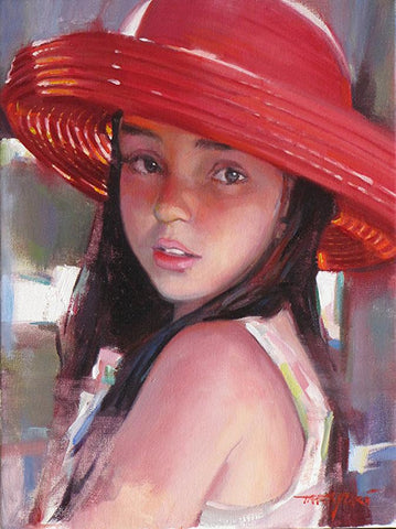 Girl With Red Hat