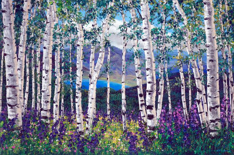 "Peaceful Wonder 48x72"" original"