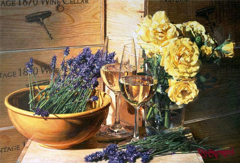 Floral Overtones painting by Eric Christensen pricing and availability at www.gallery1870.com