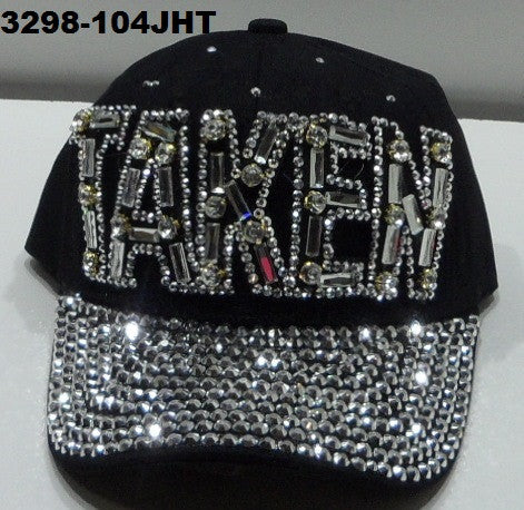 3298-104JHT BLACK TAKEN BLING HAT