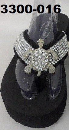 3300-016 TURTLE BLING SANDALS