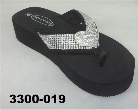 3300-019 HEART BLING SANDAL