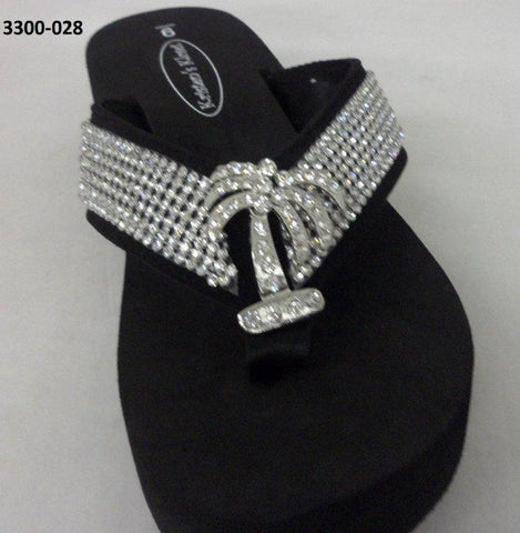3300-028 PALM BLING SANDALS