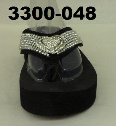 3300-048 HEART BLING SANDAL