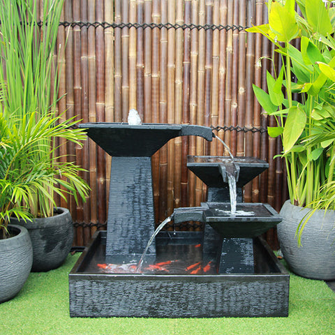 3 Tier Cascade Fountain Medium