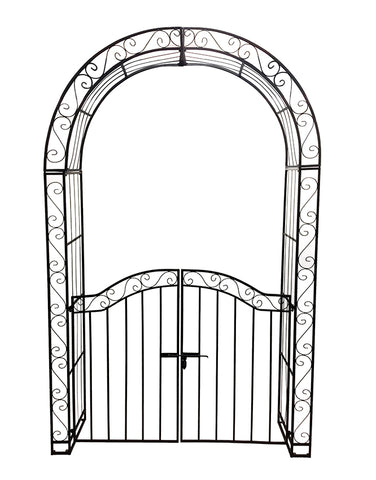 Bloom Arch with Gate (white only avail)