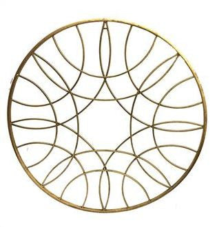 Geometric Wall Art 89.5cm Round