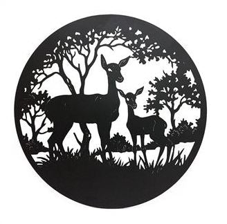 Deer Wall Art 98cm