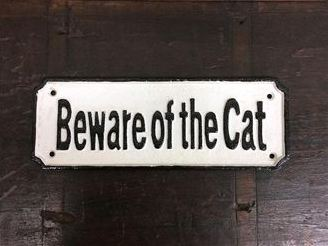 Beware of the Cat Large
