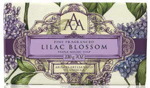 Lilac Blossom Floral Fragrance Collection soap 200g