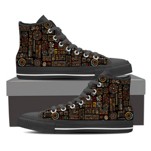 Ancient Symbols Women's High Top Shoes