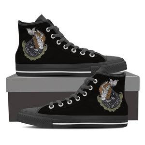 Mermaid Women's High Top Shoes