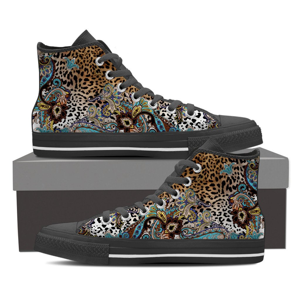 Tiger Lily Women's High Top Shoes