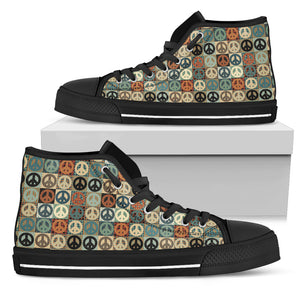 Peace Women's High Tops