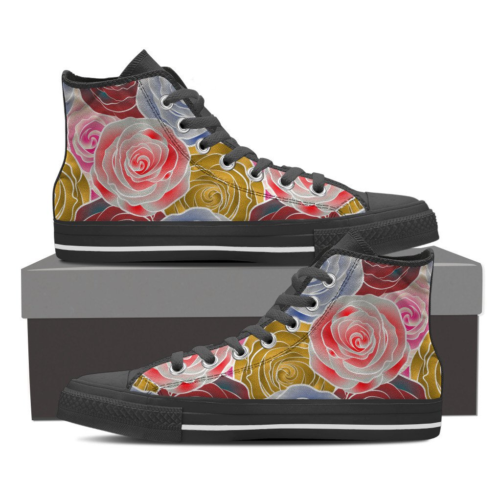 Rosey Women's High Top Shoes