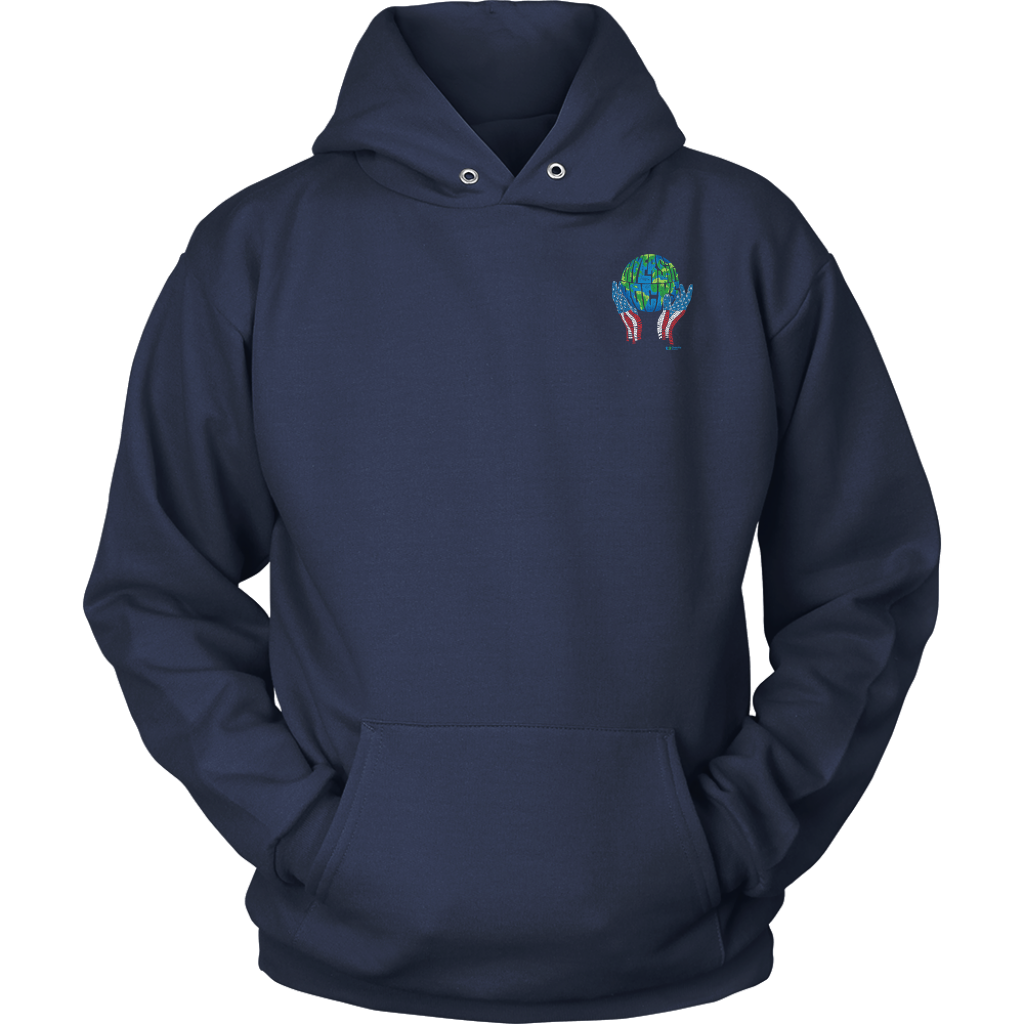 Diversity Rocks Hoodie - Front Chest & Back Emblem